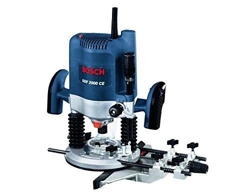 Preisvergleich Produktbild Bosch Professional GOF 2000 CE, 2.000 W Nennaufnahmeleistung, 8.000 – 21.000 min-1 Leerlaufdrehzahl, Parallelanschlag, Kopierhülse 30 mm, Spannzange 12 mm