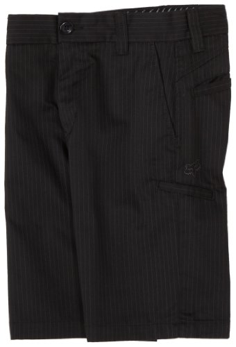 Fox Shorts BOYS ESSEX SHORT black pinstripe, W26 -