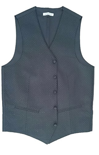 Tiesnstuff - Gilet - Homme multicolore Multicoloured Taille Unique Black with white dot