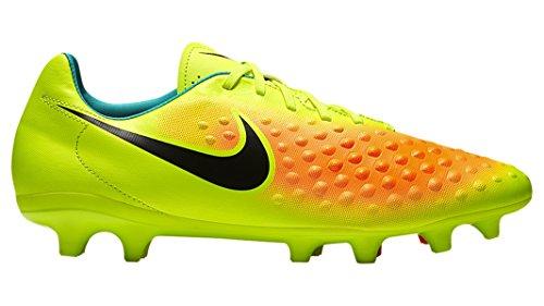 Nike Magista Onda Ii Fg, Scarpe da Calcio Uomo volt/polveroso grigio