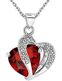 591dde201a32 Scpink Venta de liquidación! Collar Pendiente del Diamante Artificial