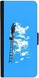 Snoogg Painting The Clouds 2676 Designer Protective Flip Case Cover For Samsu...