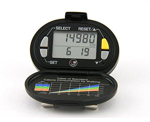 Pedometro | Yamax digi-walker CW200| accurate facile da usare e cinghia di sicurezza inclusa
