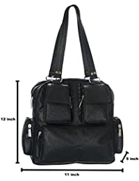 Latest Fashionable PU Leather Fancy Stylish Handbag / Bag / Purse For Women / Girls / Ladies By BALAJI DISHA - B01M252C8W