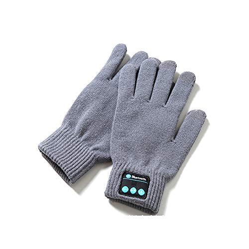 HBRT Guanti Bluetooth Winter Smart Touch Guanti Donna Uomo per Running Skiing Dog Walking Jogging Cicloturismo