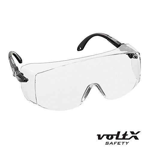 voltX 'OVERSPECS' Sobremontura para Gafas de Seguridad Industrial (Lentes...