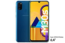 """Samsung Galaxy M30s Smartphone 64GB 6.4"""" FHD+ Android 9 Pie - Deutsche Version - Blau [Exklusiv bei Amazon]"""