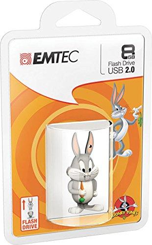 "EMTEC Looney Tunes Bugs Bunny 8GB Speicherstick USB 2.0""Large"""