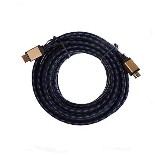 Adapter Blitz-Kabel 3m Ultra-hdmi-Kabel an Hdmi-anschlusskabel Für Ps4 / Projektor/HDTV/LCD/Laptop - Schwarz