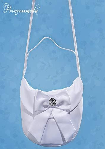 TK022 - Elegante Umhängetasche in Weiß!