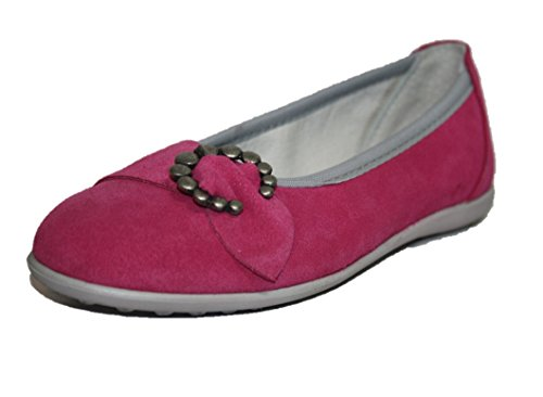 Richter Kinderschuhe 72.3013.4370, Mädchen Ballerinas, Pink (fuchsia 4370), Fuchsia