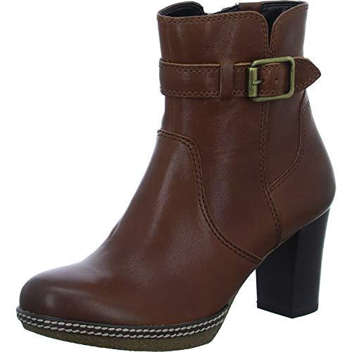 Gabor Damen Stiefelette 92.874,Frauen Stiefel,Boot,Halbstiefel,Damenstiefelette,Bootie,Hoch,Blockabsatz 5.5cm,G Weite (Normal),Sattel (Micro),UK 4