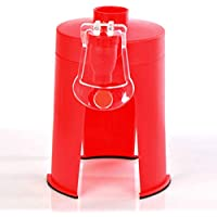 Preisvergleich für BESTONZON Kreative Cola Soda Wasser Softdrink Dispenser Stehen Desktop Soft Drinking Gerät mit Wasserhahn (Rot)