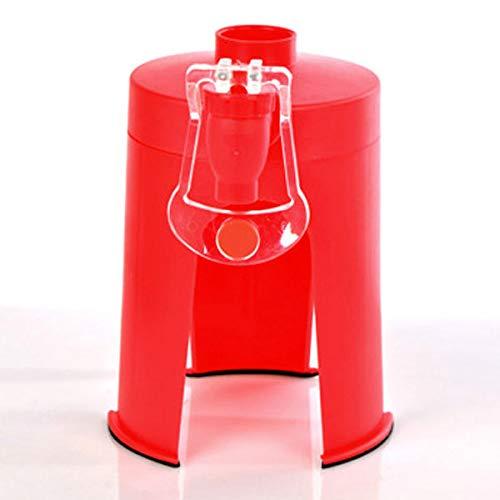 BESTONZON Kreative Cola Soda Wasser Softdrink Dispenser Stehen Desktop Soft Drinking Gerät mit Wasserhahn (Rot) preisvergleich