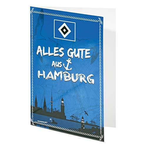 Hamburger SV HSV Karte/Geburtstagskarte / Grußkarte ** Alles Gute ** 29629