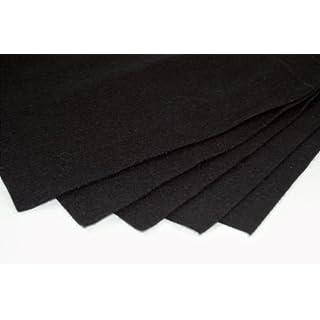 Black Felt Sheets, A4 size, 5 per pack