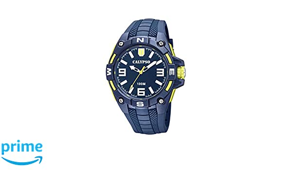 Calypso Watches Mens Analogue Classic Quartz Watch with Plastic Strap K5761  2  Amazon.co.uk  Watches a932f3fcb63