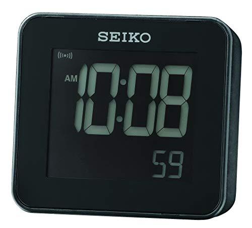 Seiko QHL079K - Reloj Despertador con Pantalla LCD