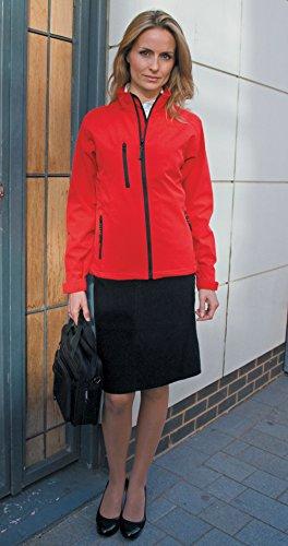 Femmes Sous-pull Veste Softshell red