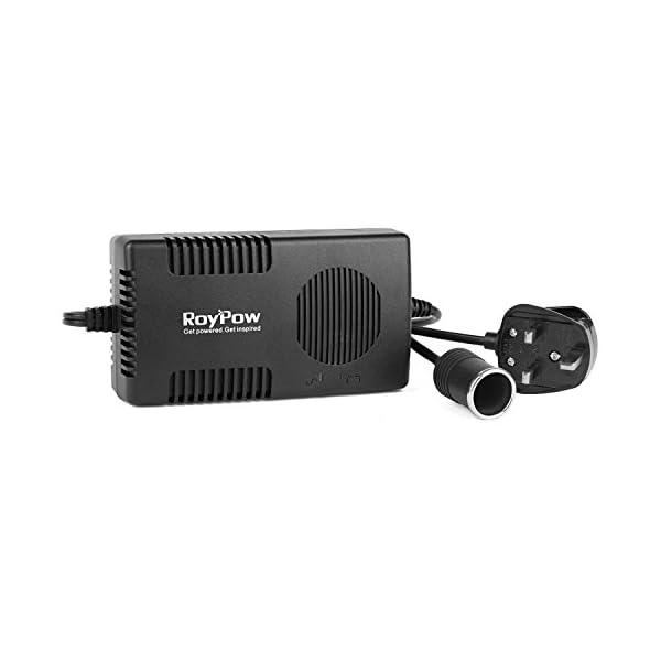 RoyPow Voltage Converter AC 240V to DC 12V 10A Power Adapter 120W (Max 150W) Car Cigarette Lighter Socket Transformer Mains 1