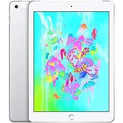 Apple iPad (Wi‑Fi + Cellular, 32Go) - Argent (Dernier Modèle)