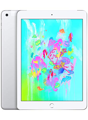 "Apple iPad (9,7"", Wi-Fi + Cellular, 32GB) - Argento (Modello Precedente)"