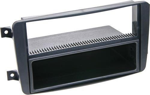 Panel de radio 2-DIN con compartimento