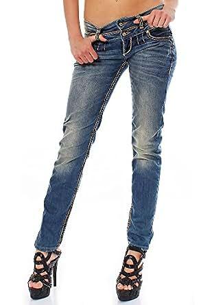 Cipo & Baxx Damen Jeans slim 25/32