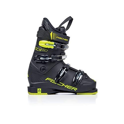 Fischer Unisex Jugend Kinder Skischuhe schwarz 22 1/2, 22.5