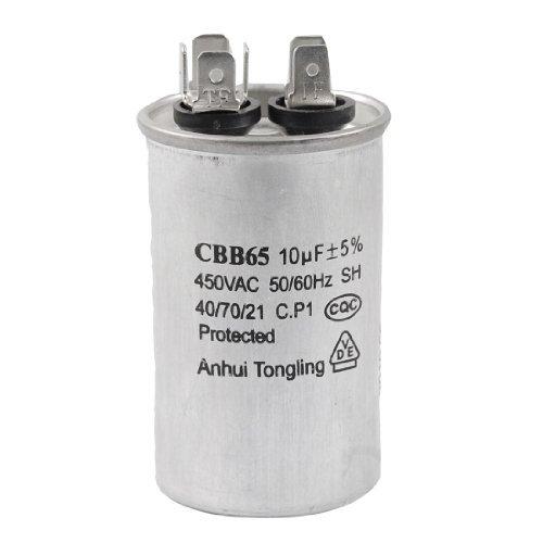 CBB65 10uF 50 / 60Hz-Zylinder Motor Betriebskondensator AC 450V -