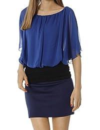 Bestyledberlin blouses femmes, débardeurs longs t64pn