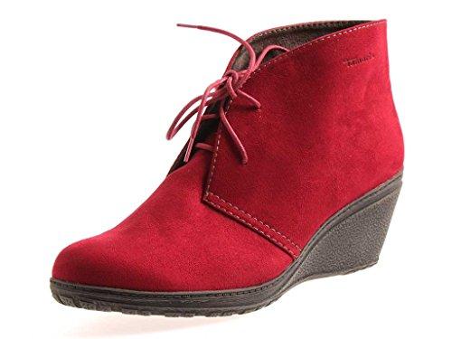 Tamaris Wedge Keilstiefelette Stiefelette Lederstiefelette Leder Schuhe EU.42