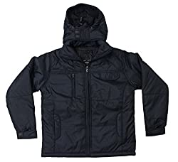 Romano Kids Blue Water Wind Snow Resistant Jacket With Hood for Boys and Gi...