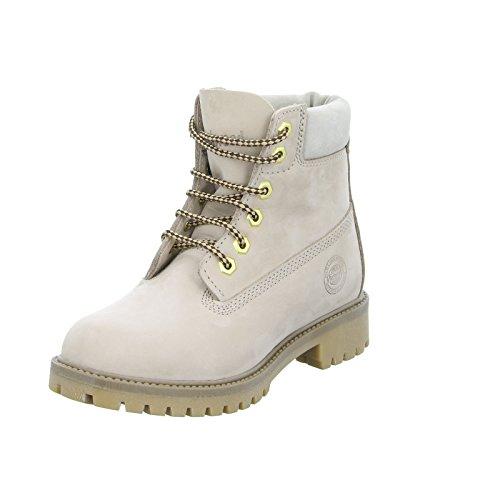 Womens Waterproof Combat Boot (Darkwood Womens/Ladies Willow Water Resistant Warm Walking Ankle Boots)