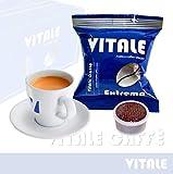 Vitale Caffè Extrema 1000 Capsule caffè Compatibili cialde caffè Lavazza Espresso Point - Miscela Estremamente Cremosa