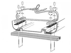 kamei kamei montagesatz f delphin 375 dachbox fit for. Black Bedroom Furniture Sets. Home Design Ideas