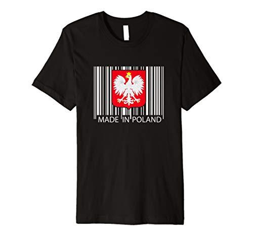 Made in Polen Barcode dyngus Surrealismus Polish Eagle T Shirt