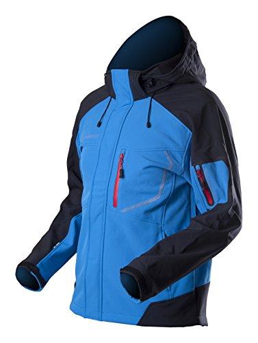 Trimm giacca Softshell da uomo slope, Uomo, Softshell Jacke Slope, Sea Blue/Grafit Black, XXXL