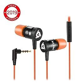 KLIM Fusion Auricolari con Microfono + Audio di Alta qualità + Cuffie di Lunga Durata con Memory Foam + Garanzia 5 Anni…