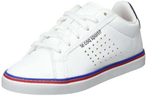 Le Coq Sportif Courtace GS Sport Optical White/Dress BL, Baskets Mixte Enfant