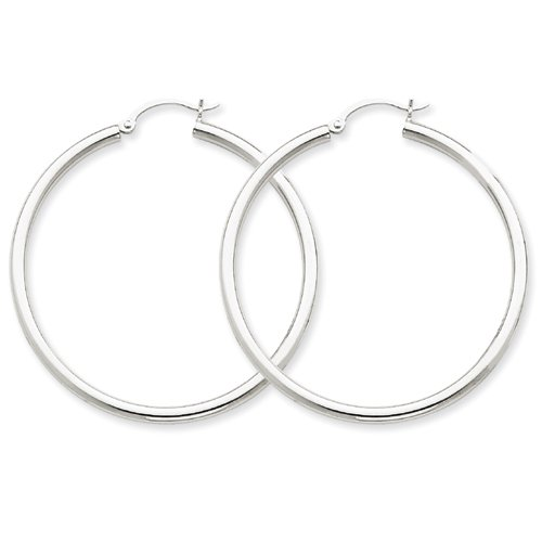 10k-white-gold-25mm-round-hoop-earring-by-ukgems