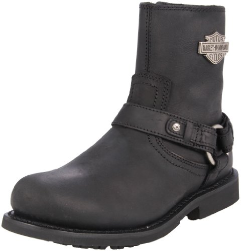 Harley-Davidson Men's Scout Motorcylce Harness Boot, Black, 7 M US Harness Boot