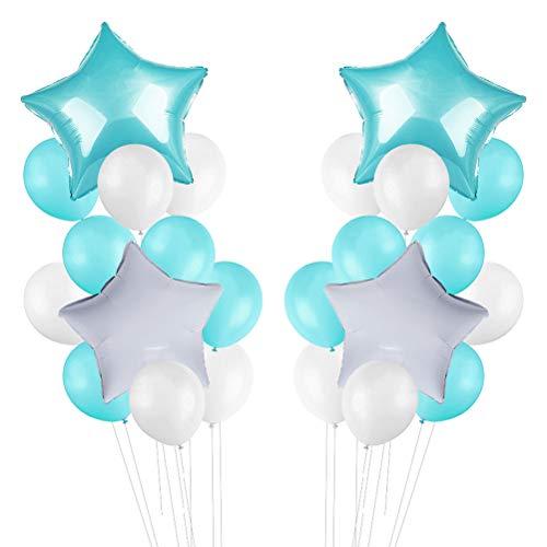 Toyvian Luftballons Blue Set 24 - 18