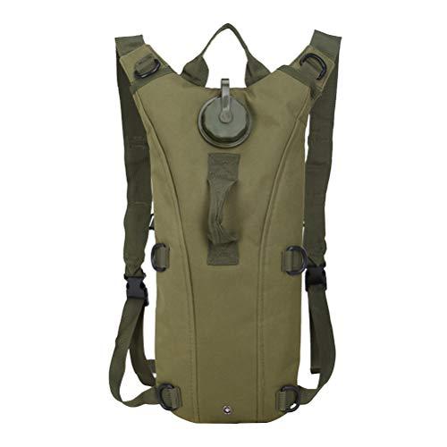 966609538f0 LIOOBO Paquete de Mochila de hidratación Bolsa para Caza Trekking Ciclismo  de Viaje Camping 3L (