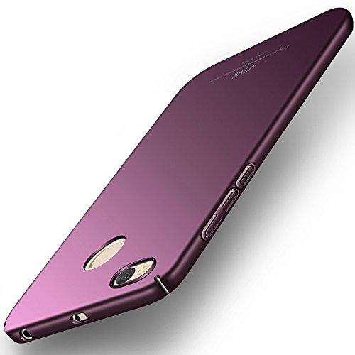 Coque Xiaomi Redmi 4X, MSVII® Très Mince Coque Etui Housse Case et Protecteur écran Pour Xiaomi Redmi 4X (Pas compatible avec Redmi 4) - Violet JY00210 Violet