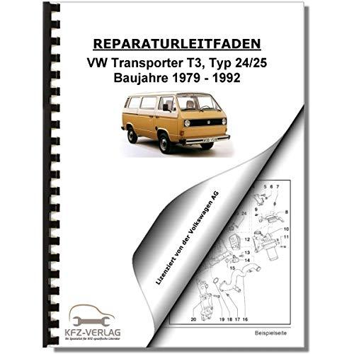 VW Transporter/Bus T3 (79-92) Heizung, Lüftung, Klimaanlage - Reparaturanleitung