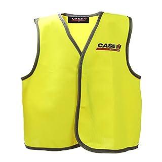 AYKRM Childs Hi Vis Waistcoat vest High Visibility Childrens Safety Vest Waistcoat Jacket kids reflective vest (L)