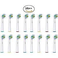 U-prime ® Standard Têtes de brosse à dents de remplacement compatible avec brosse à dents électrique Braun Oral-B...