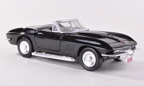 chevrolet-corvette-stingray-convertible-c2-noire-1967-voiture-miniature-miniature-deja-montee-motorm