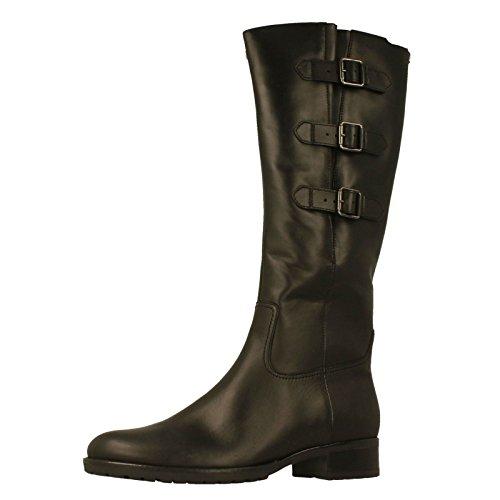 Gabor Damenschuhe 51.617.27 Stiefel Damen Stiefel, Boots, Stiefelette Schwarz (schwarz), EU 37